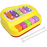 Goyal's Musical Xylophone and Piano, Non Toxic, Non-battery for Kids & Toddlers