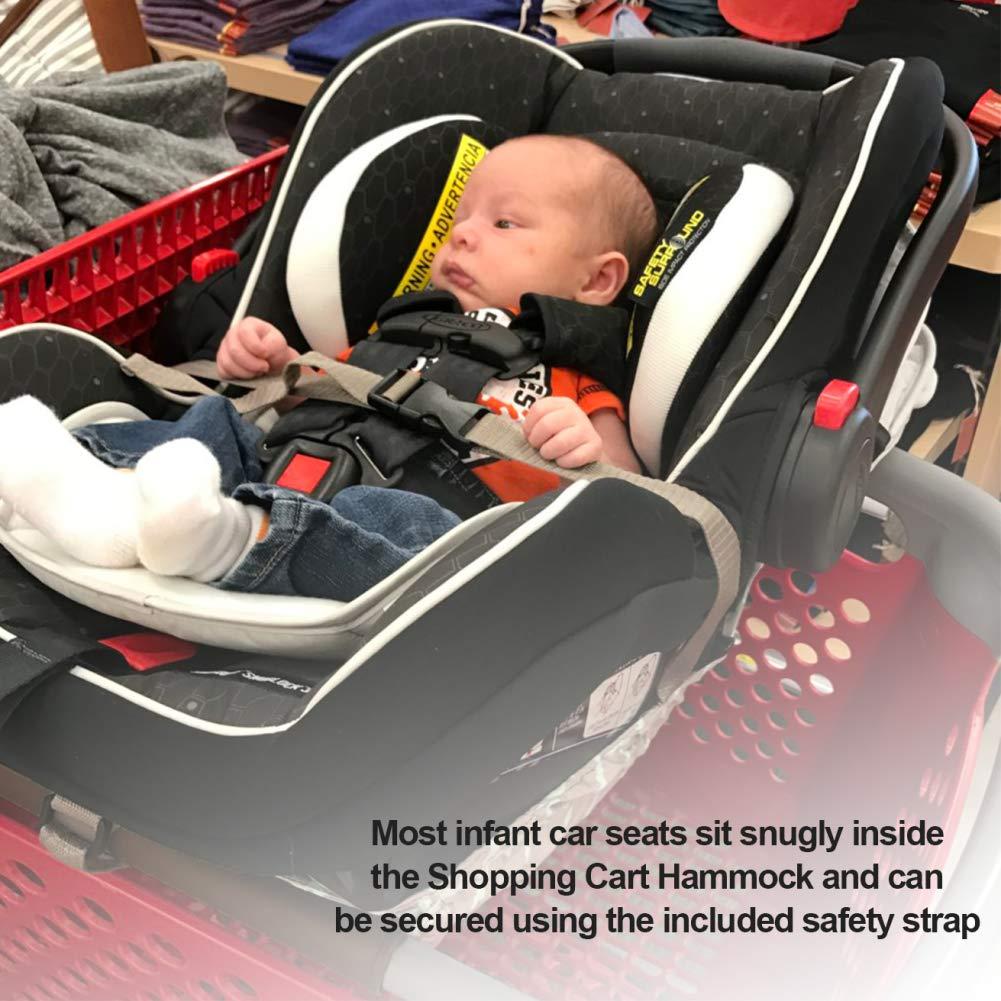 Amazon.com: Hamaca para carrito de la compra para bebés de 0 ...