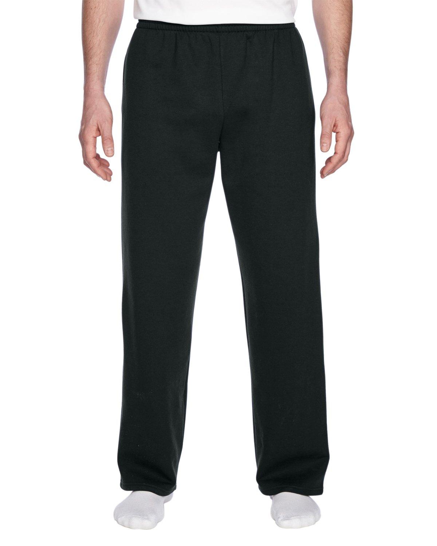 Fruit of the Loom Best Collection™ Men's Fleece Elastic Bottom Pant Medium Black