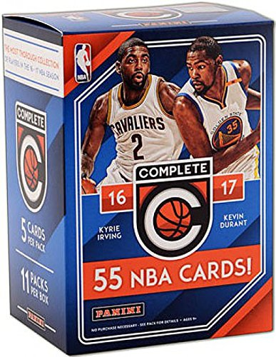 NBA All Teams 2016/17 Panini Complete Basketball Blaster Box, Black, Small by Panini