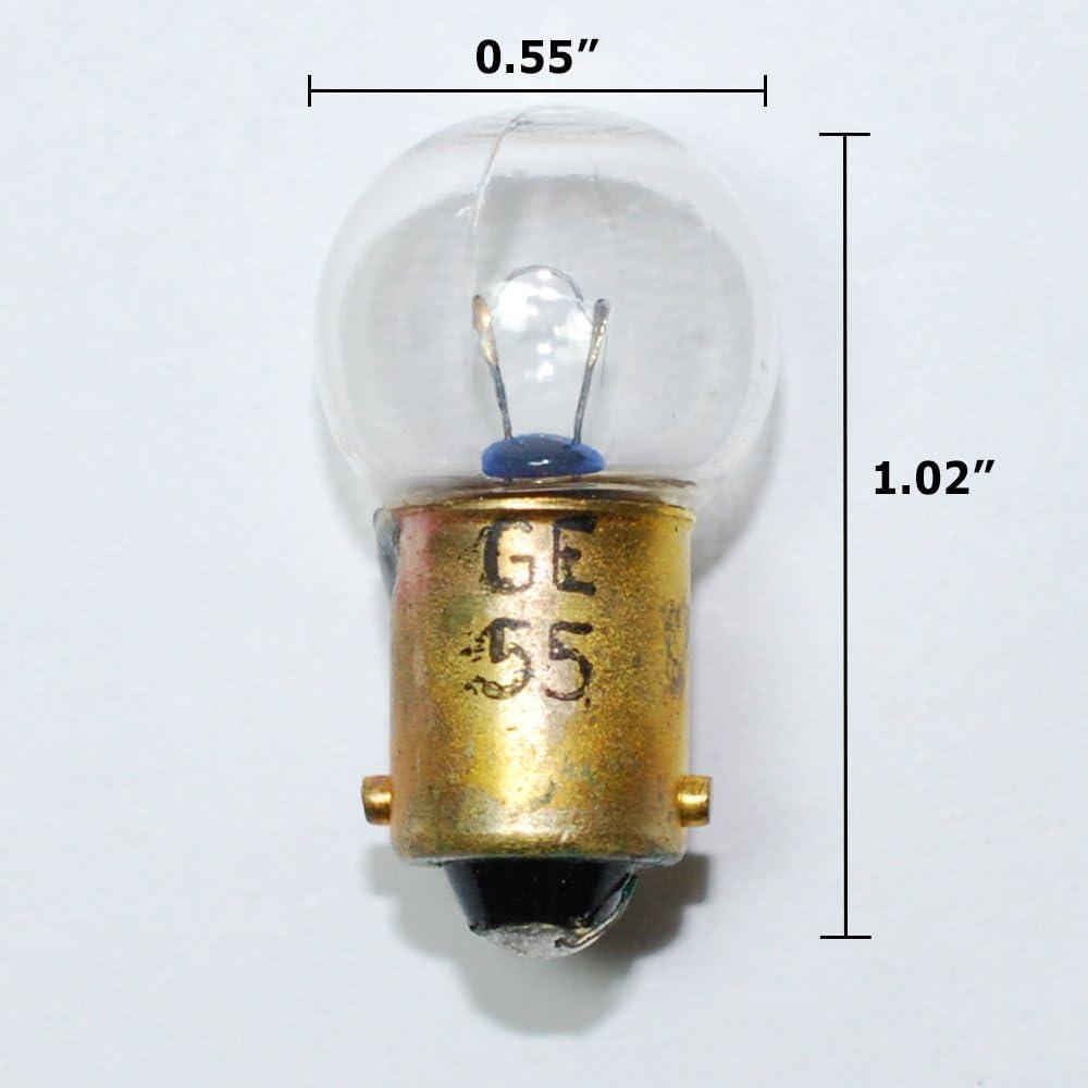 NEW GE MINIATURE LAMPS LIGHT BUBS 12 VOLT MODEL 1895 LOT OF 10 10