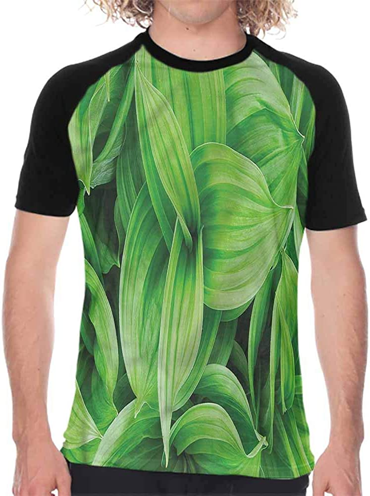 Plant,Mens Shorts Hop Twigs on Wood,Casual Blouses Baseball Tshirts Top