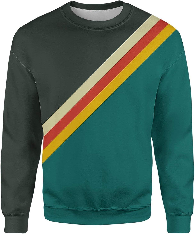 All Over Shirts Slick Stripes Sweatshirt
