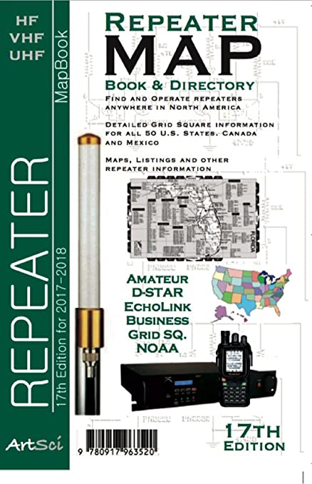 Amazoncom Repeater Mapbook 17th edition Car Electronics