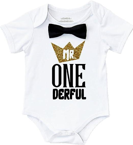 Amazon.com: Noahs Boytique Mr Onederful - Disfraz de niño ...