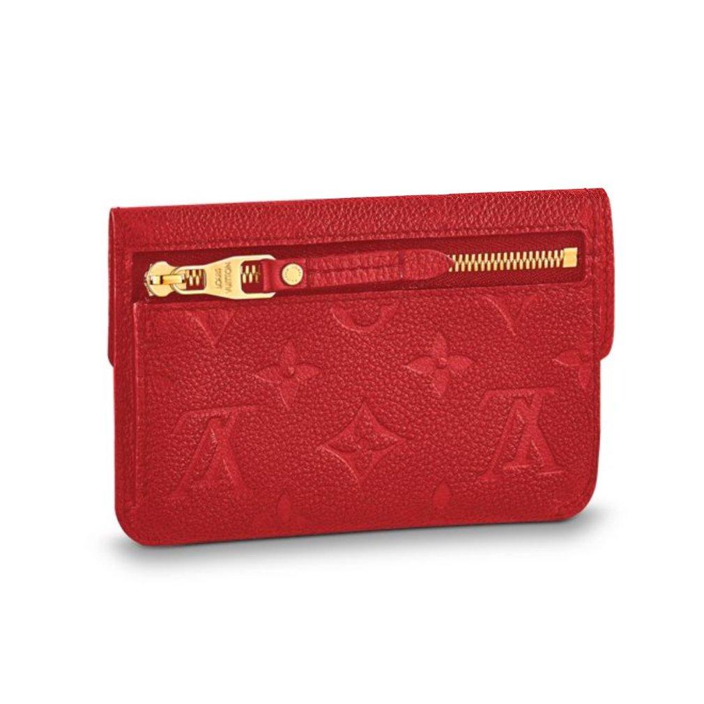 553fbc826d Amazon.com: Louis Vuitton Monogram Empreinte Leather Key Pouch ...