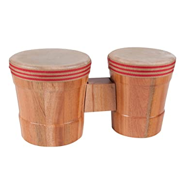 Westco Junior Bongo Drum Set (12 x 6 x 5.5/12 x 5 x 5 inches; Age 3+): Toys & Games