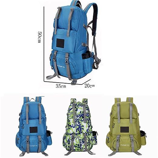 be35d8b6ce5c Amazon.com : KEXKL 50L Sports Bag Nylon Waterproof Hiking Backpacks ...