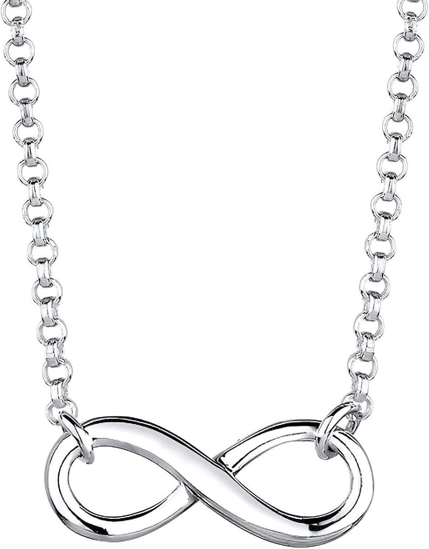 Elli Collares para dama símbolo infinito en plata de ley 925