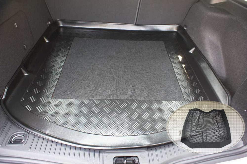 Geriffelte Kofferraumwanne für Ford Mondeo 4 BA7 Vor-Facelift Turnier Kombi 5-2C