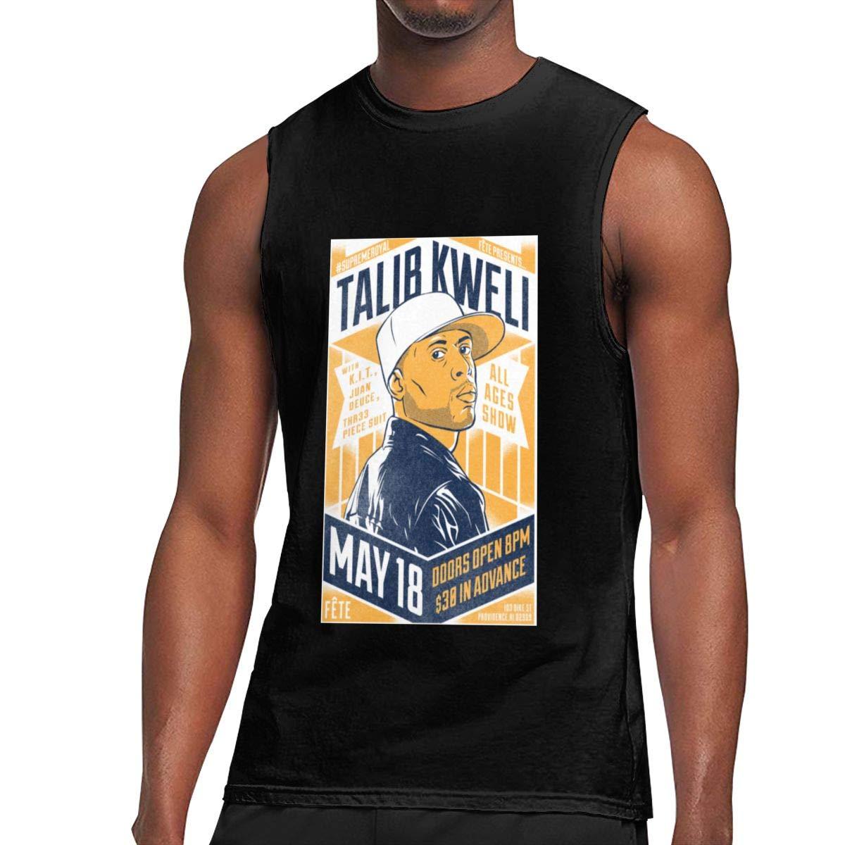 Seuriamin Talib Kweli Prisoner Of Conscious S Basic Athletic Sleeveless Muscle Short Sleev