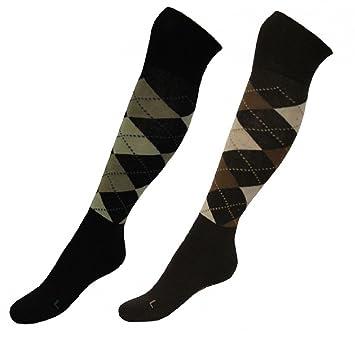2 pares de equitación-calcetines Pop para niños, adolescentes, para mujer & Hombre