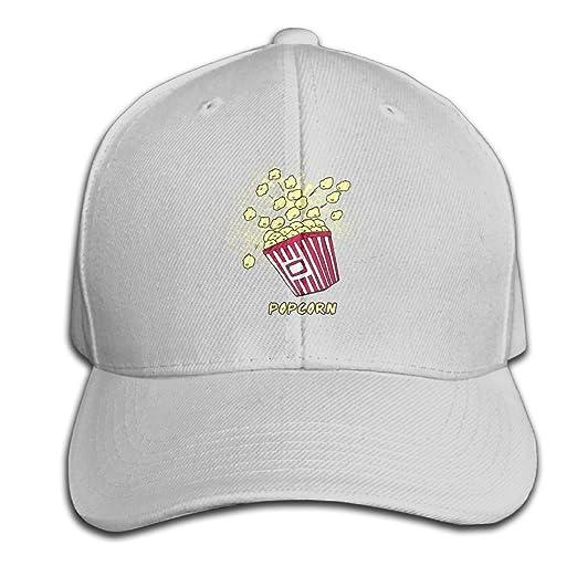 Amazon.com: Popcorn Para Colorear Snapback Sandwich Cap Ash Baseball ...