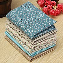 6pcs Colorful Flower Floral Cotton Fabric Fat Quarter Bundle Diy Cloth Sewing Craft Home Textile Fabric Patchwork Quilting