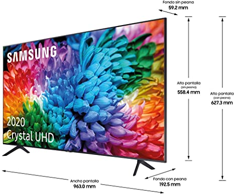 Samsung UHD 2020 43TU7105- Smart TV de 43