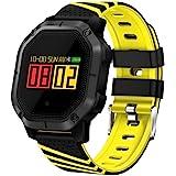 Miya Reloj Inteligente a Prueba de Agua Smartwatch Fitness Tracker Deportivo