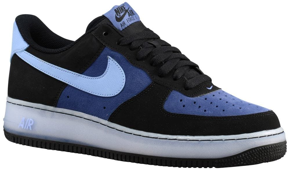 [ナイキ] Nike Air Force 1 Low - メンズ バスケット [並行輸入品] B071FJVJXX US10.5 Black/Aluminum/Blue Legend/White