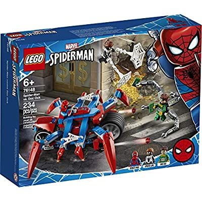LEGO Marvel Spider-Man: Spider-Man vs. Doc Ock 76148 Superhero Playset with 3 Minifigures, Great Toy Gift for Kids, New 2020 (234 Pieces): Toys & Games