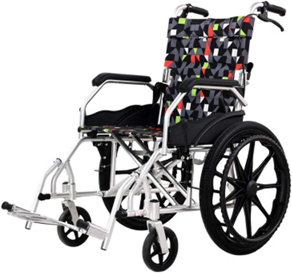 便利な 車椅子のアルミ合金の高齢者のための携帯用車椅子車 参照EJ-6859