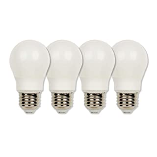Westinghouse Lighting 4513620 60-Watt Equivalent A15 Soft White LED Light Bulb with Medium Base (4 Pack), Four