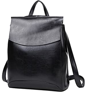 b7af2fe496c09 Yan Show Damen Neu Leder Schulter Taschen Rucksack Handtaschen