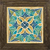 14x14 Free Bird Mexican Tiles II by Brissonnet, Daphne: Ponderosa Saddle 21871