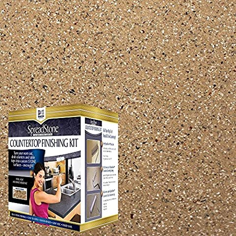 Daich DCT-MNS-CG Quart Spreadstone Mineral Select Countertop Refinishing Kit, Canyon Gold (Turn Concrete Into Gold)