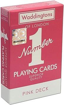 "Waddingtons /""Number 1/"" Playing Cards GENUINE UK STOCK"