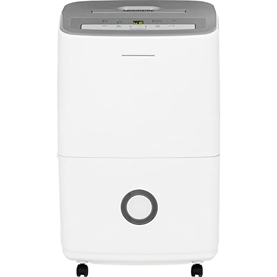 Frigidaire 70-Pint Dehumidifier with Effortless Humidity Control, White