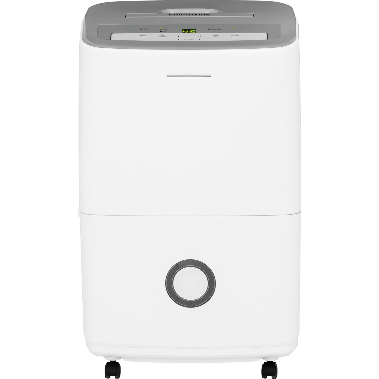 Frigidaire 70-Pint Dehumidifier with Effortless Humidity Control, White by Frigidaire