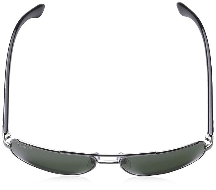 5c226e691b Amazon.com: Ray Ban RB 3483 BLACK 004/58 Sunglasses RB3483 - 60mm: Ray Ban:  Clothing