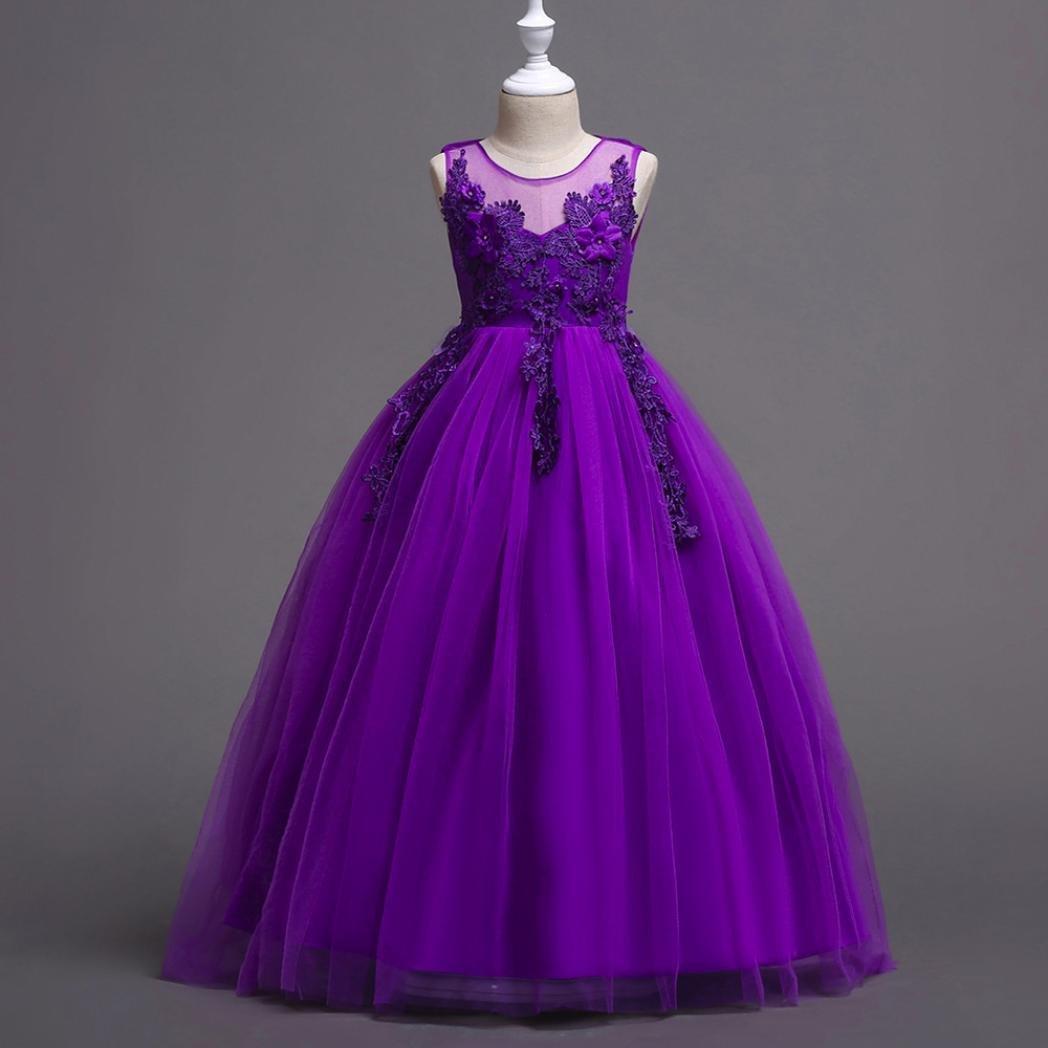 Jarsh Flower - encaje, Vestido de boda para - dama de para honor, de ...
