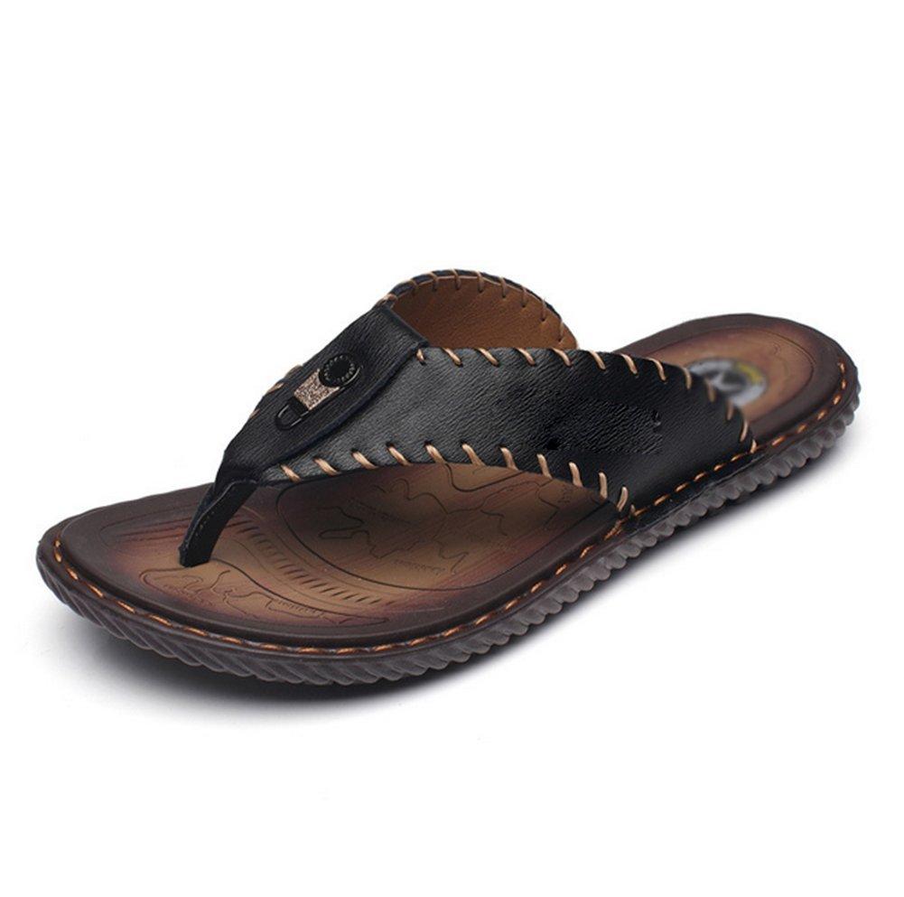 Sandalias De Verano De Los Hombres,Zapatillas De Playa Casual Elegante Longitud del pie=25.3CM(10Inch)|A