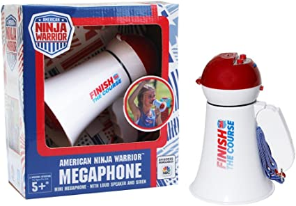 Amazon.com: American Ninja Warrior Megaphone- with Siren and ...