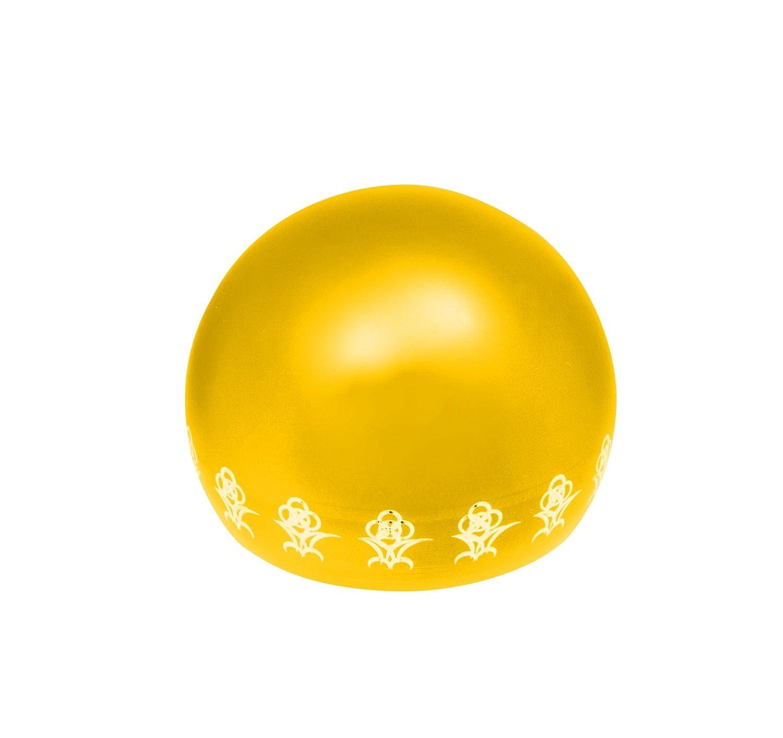 リアン (Lien) 7月ルビー ペット専用骨壺 メモリアルボール リアン オープンフラワー オレンジ B07BFY3J98 ゴールド  ゴールド|1月ガーネット