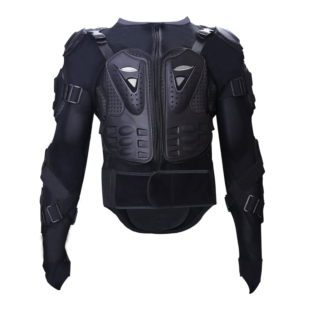 Tera Motorcycle Protective Jacket,Sport Motocross MTB Racing Full Body Armor Protector for Men (XXL)