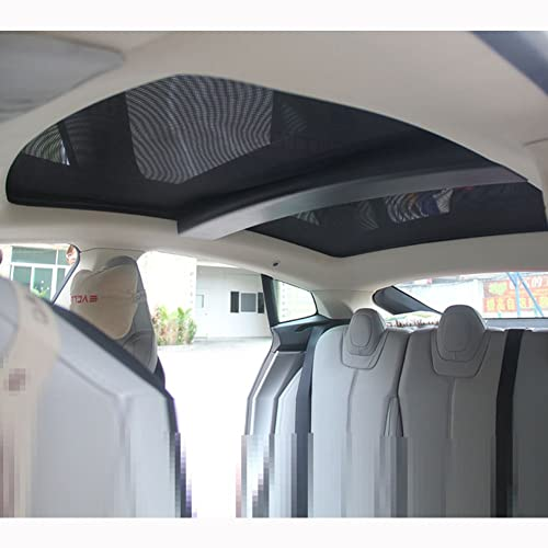 Topfit Sunroof Sunshade for Tesla Model S 2012-2017 Version (2 of Set)