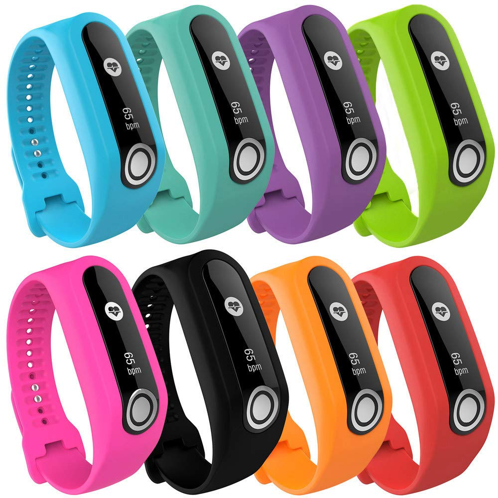 Amazon.com: Creamdog❤ Replacement Silicone Band Strap for Tomtom Touch Cardio Activity Tracker (Yellow): Clothing