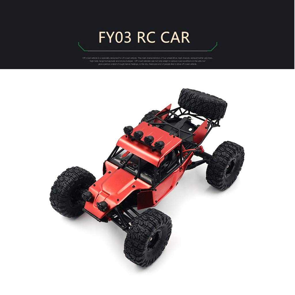 Electric RC Buggy 1/12 Remote Control Car 2.4Ghz 4WD Desert Off-Road Truck 70KM/h High Speed Terrain RC Car Rechargeable Vehicle Rock Crawler for Kids & Adults by DaoAG (Image #7)