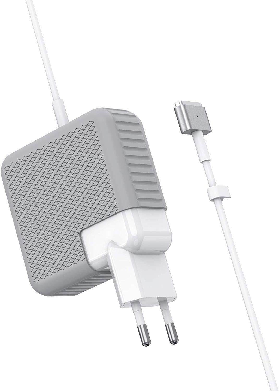 MacBook Pro Ladeger/ät Ende 2012, 2013, 2014, Anfang 2015 Modelle SIXNWELL 60W MagSafe 2 T-Form Netzteil MacBook Ladeger/ät Ladeger/ät f/ür MacBooks 11 /& 13 - Funktioniert mit 45W und 60W MacBook