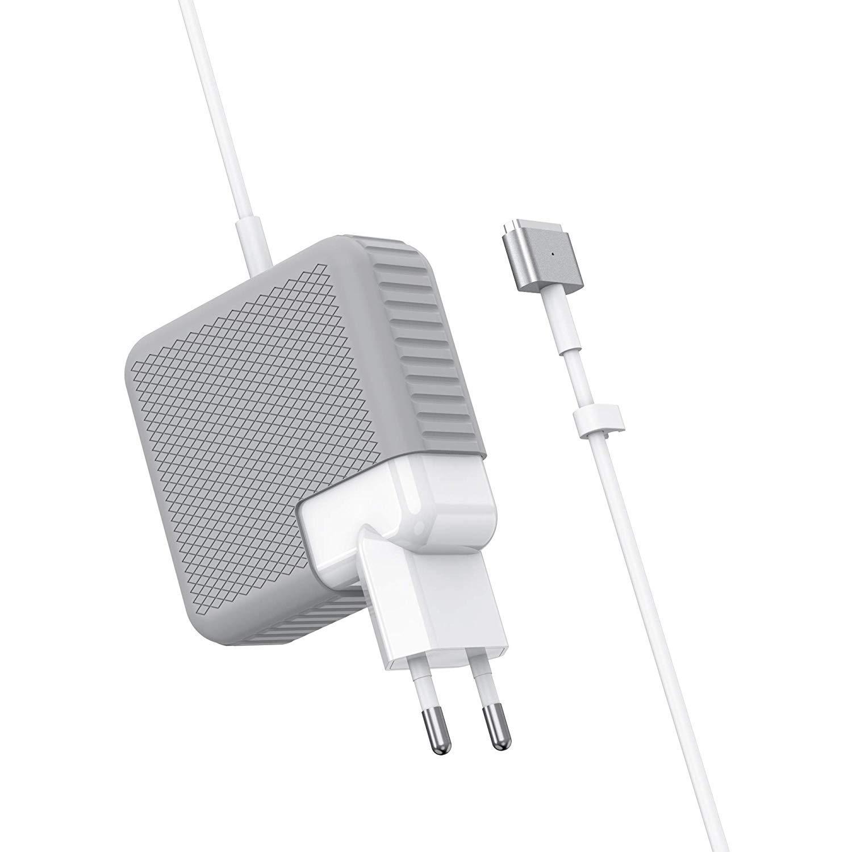 SIXNWELL Cargador Mac Pro Adaptador de Corriente MagSafe 2 60W para Mac Book Pro con Pantalla Retina 13 Pulgadas a Partir de la Fin de 2012 y Despu/és Conector de Forma en T /…