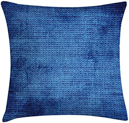 Amazon.com: Azul marino Throw almohada cojín cubierta por ...