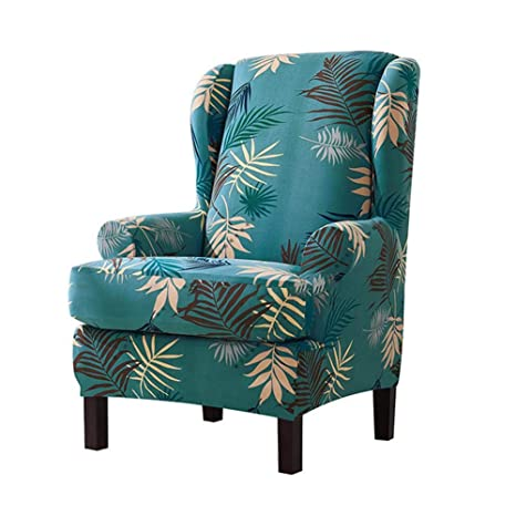Sensational Soundwinds Armchair Slipcovers Printed Wing Chair Stretch Lamtechconsult Wood Chair Design Ideas Lamtechconsultcom
