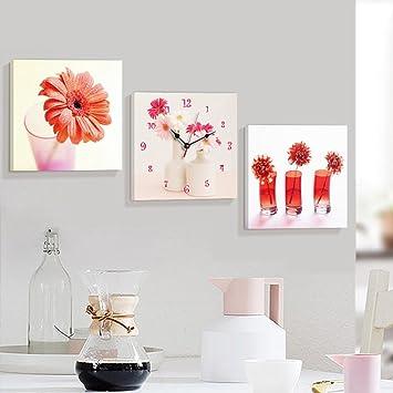 MEIDUO Wand Dekor Modern Wohnzimmer Restaurant Dreibettzimmer Malerei  Europäische Fresken Block Mauer Frameless Gemälde Hanging