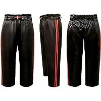 Vader Sports Pantalones Negros para Entrenamiento de Kickboxing