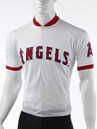 ada3dd613 Image Unavailable. Image not available for. Color  VOMAX MLB Los Angeles  Angels Men s Cycling Jersey ...