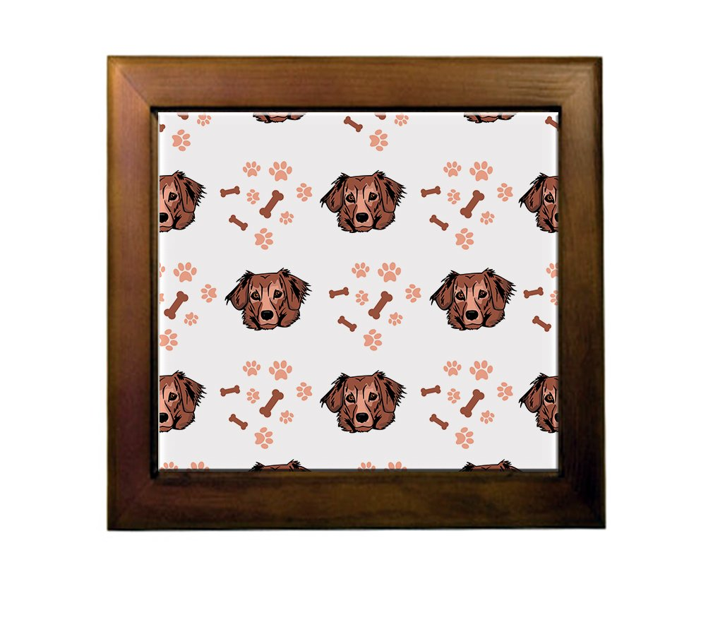 durable service Dachshund Mix Dog Breed Ceramic Tile Backsplash Accent Mural