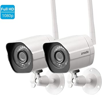 Zmodo HD 720p WiFi Night Vision Motion Detection 2-Way Audio Security Camera NEW