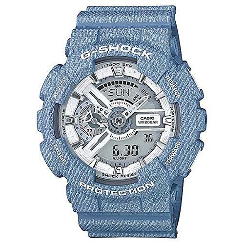 Casio G-Shock White Dial Resin Quartz Men's Watch GA110DC-2A7