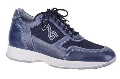 Nero Giardini - Zapatos de cordones para hombre azul turquesa azul Size: 41 SKwno